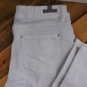 Lauren Conrad white jeans